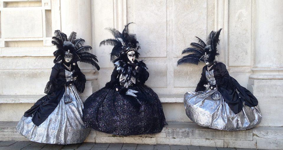Εικόνες από το καρναβάλι της Βενετίας