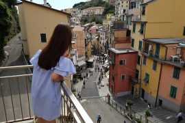 Cinque Terre by train