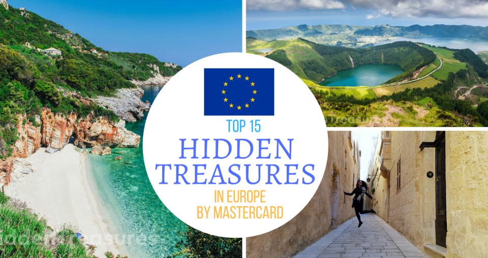 15 Hidden Treasures in Europe