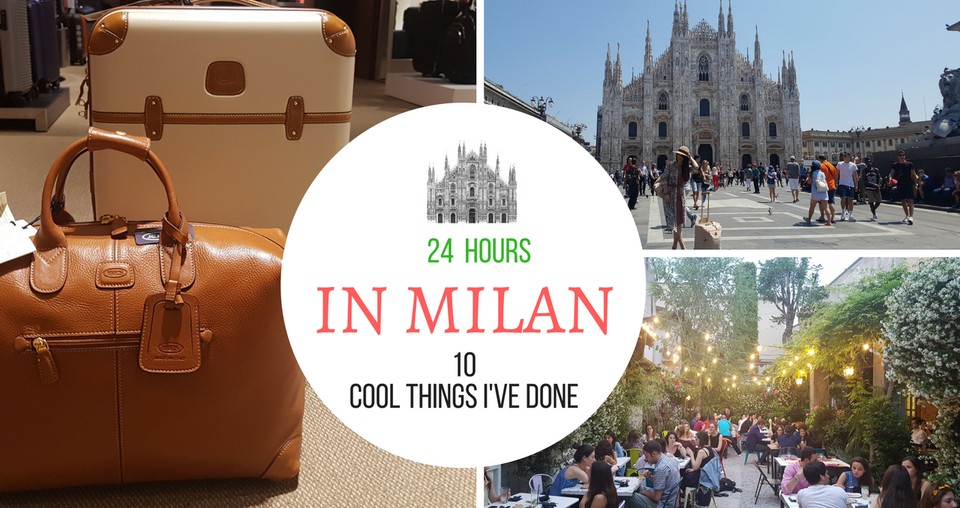 10 πράγματα που έκανα στο Μιλάνο