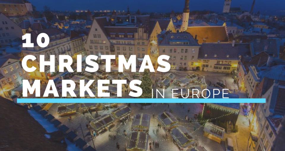 Τα καλύτερα Christmas Markets των Χριστουγέννων